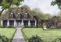 Natalbany Way - Andy McDonald Design Group | Southern Living House Plans