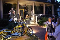 The best place in the world to Trick or Treat.