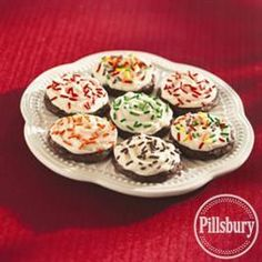 Frosted #Brownie Cookies from Pillsbury® Baking