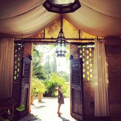 Tent. Interiors.