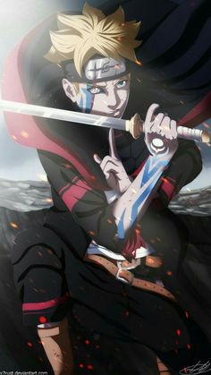 Boruto - Next Generation by heh, for a second, I thought that was Naruto, but he looks like him.anyway, boruto is hot😊😍😍❤️ Naruto Shippuden Sasuke, Anime Naruto, Sakura Anime, Manga Anime, Art Naruto, Anime Guys, Itachi, Gaara, Naruto Pics