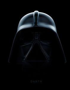 Vader...shadowed.