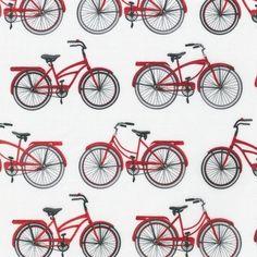 Sew Modern : Mary Lake-Thompson - Everyday Favorites - Bikes - Red -
