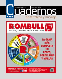 Cuadernos de Ferretería y Bricolaje September 2014 edition - Read the digital edition by Magzter on your iPad, iPhone, Android, Tablet Devices, Windows 8, PC, Mac and the Web.