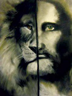 Aslan/Jesus Portrait for Baby's Room