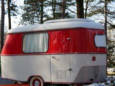 Eriba Puck Export im Überblick Vintage Camper, Vintage Caravans, Vintage Trailers, Eriba Puck, Canned Ham Camper, Truck House, Bobby Car, Caravan Renovation, Small Trailer