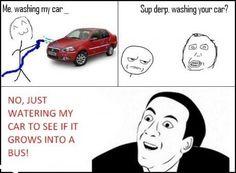 you-dont-say-meme-washing-my-car