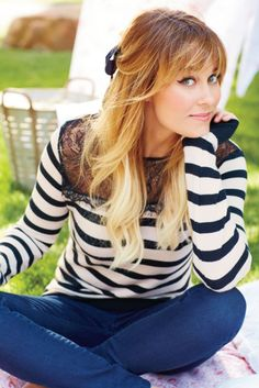 Lauren conrad's outfit is super adorable! Perfect for fall.