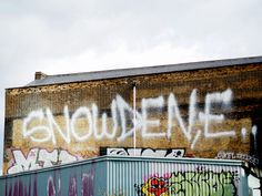 London #graffity #snowden