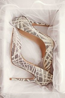 Luxury wedding shoes - we love Jimmy Choo 2016 bridal collection, see the full collection here (BridesMagazine.co.uk)