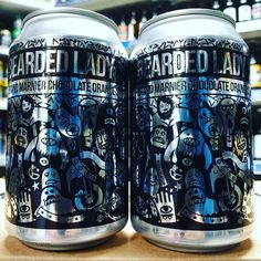 Bearded Lady - 10.5% Grand Marnier Barrel Aged Chocolate Orange Stout from @magicrockbrewing available now
