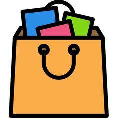 Shopping Bag free vector icons designed by Darius Dan in 2020 Free icons Vector free Vector icon design