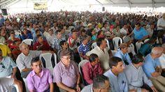 Más de 100,000 empleos nuevos dará la caficultura en la cosecha 2015-2016 Más de 2,500 caficultores asistieron a los actos conmemorativos. Fotos: Yoseph Amaya