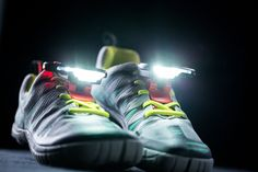 Developed by athletes and featured on Shark Tank, Night Runner 270 safely lights the way from dusk till dawn without the hassles of headbands, belts, or straps. Designed for urban running, trail runni Best Trail Running Shoes, Running Gear, Running In The Dark, Runners Shoes, Gifts For Runners, Running For Beginners, Thing 1, Shark Tank, Dog Walking