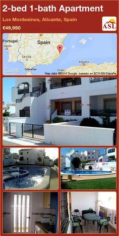 2-bed 1-bath Apartment in Los Montesinos, Alicante, Spain ►€49,950 #PropertyForSaleInSpain