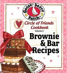 Bargain e-Cookbook: Gooseberry Patch 25 Brownie and Bar Recipes! {99 cents} #brownie #recipes