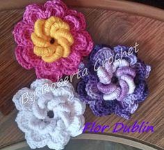 Mundo do Crochê Roberta Crochet ✻.¸¸.✿