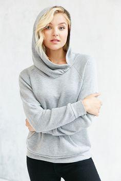 Project Social T Ava Overlap Hoodie Sweatshirt
