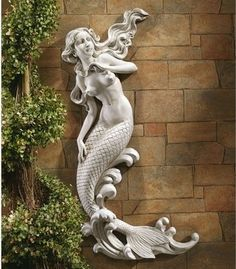 Bathroom ideas:  mermaid wall decor - Google Search