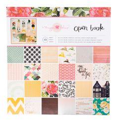 """Maggie Holmes Open Book 12x12"""" Paper Pad von Baers Garten Designs auf DaWanda.com"""