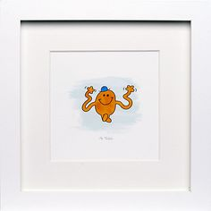 Tickle Framed Print, x from our Pictures range at John Lewis & Partners. Mr Men, Man Room, Guy Pictures, Kids Decor, John Lewis, Printer, Framed Prints, Scrapbook, My Love