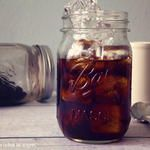 Cold Brewed Coffee Concentrate & Iced Skinny Coffee Recipe {Vegan}