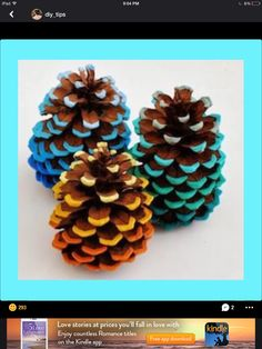 Celebrate everything autumn with these fun and creative fall crafts. From pumpkin crafts to mason jar crafts, there's plenty of craft ideas to choose from Autumn Crafts, Nature Crafts, Holiday Crafts, Christmas Crafts, Christmas Decorations, Christmas Ornaments, Diy Autumn, Autumn Decorations, Xmas