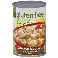 Gluten Free Cafe Chicken Noodle Soup,15 oz  @ Walmart