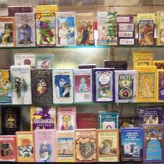 We have tarot decks AT PSYCHIC REALITY.