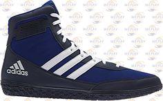 adidas Mat Wizard 3 Wrestling Shoes - Royal Blue