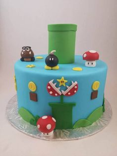 Super Mario Bros Cake Tutorial! - CakesDecor