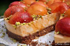 Cheesecake cu caise Something Sweet, Baked Potato, Cheesecake, Baking, Ethnic Recipes, Desserts, Beverage, Food, Tailgate Desserts