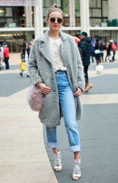 What She's Wearing Jacket: H&M Jeans: Levi's Bag: ASOS Get the Look Shrimps 'Grayson' Clutch, $320; openingceremony.us