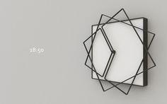 Frame Clock by Nazar Sigaher | Off Some Design