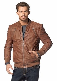 Deze mooie bruine leren jas is nu met 10% afgeprijsd! #uitverkoop #korting #sale #jack #brown #leather #jacket #heren #mannen #mode #men #fashion