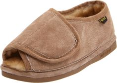 slippers: Old Friend Women's Ladies Step-In,Chestnut With Stony Fleece,Large M US) Slippers For Plantar Fasciitis, Slippers With Arch Support, Sheepskin Slippers, Fashion Slippers, Womens Slippers, Ladies Slippers, Soft Suede, Old Friends, Brown Boots