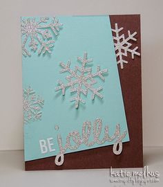 Merry Monday Christmas Challenge: Merry Monday #140 {Snowflakes}