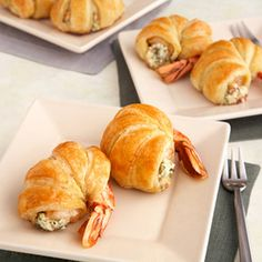 Puff Pastry-Wrapped Jumbo Shrimp Recipe from psfreeman | MyRecipes.com Mobile