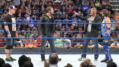 For SmackDown, Ambrose & Cena will team up against Styles and a partner of his choosing in the main event!