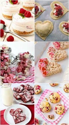 Valentine's Day Desserts   http://jillianastasia.com/valentines-day-treats/