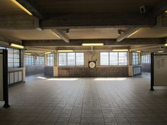 Circulation lobby at Acton Town London Underground station | Flickr - Photo Sharing!