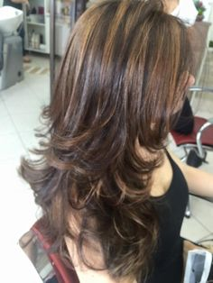 Ideas Hair Cuts Layers Shoulder Length - All For New Hairstyles Medium Hair Cuts, Long Hair Cuts, Medium Hair Styles, Curly Hair Styles, Haircut Medium, Long Hair Short Layers, Thin Hair, Long Face Hairstyles, Haircuts For Long Hair