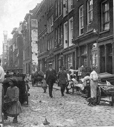 Zandstraat Rotterdam (jaartal: 1900 tot 1910) - Foto's SERC
