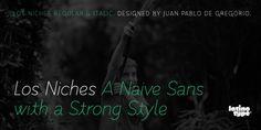 Los Niches font download