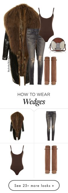 """""""Untitled #716"""" by nina-quaranta on Polyvore featuring J. Mendel, R13, Givenchy, WearAll and Olympia Le-Tan"""