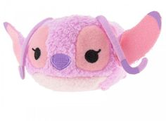 "<< NEW >> Tsum Tsum Mini ( S ) 3.5"" Plush - ANGEL ❤ Stitch Disney Store Japan"