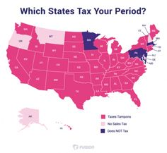 Menstruation is a luxury, ladies: 40 states don't consider feminine hygiene products (such as tampons and pads) to be necessities (like healthcare and food) and, therefore, charges a higher tax rate. Pms, Tampon Tax, Pink Tax, Sanitary Napkin, Feminine Hygiene, Sales Tax, Tight Budget, Social Issues, Social Justice