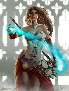 """Kingdom Age - Mage"" by Dustsplat (Deviantart) [ Mage - Wizard - Witch - Sorceress - Magic - Sorcery ]"