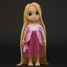 Ознакомьтесь с моим проектом в @Behance: «3d model of Rapunzel doll»…