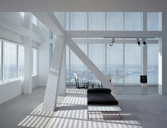 Penthouse in Rotterdam — Kreon -------- i love open space and big windows